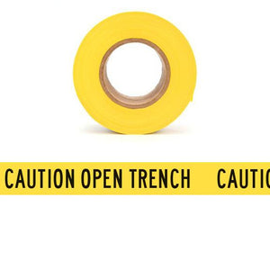 CAUTION OPEN TRENCH