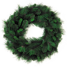"Load image into Gallery viewer, 24"" Mixed Pine Christmas Wreath, 90 Tip 