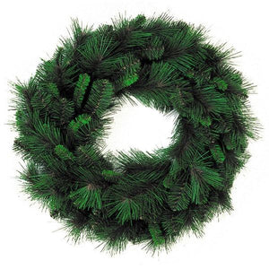 "24"" Mixed Pine Christmas Wreath, 90 Tip 