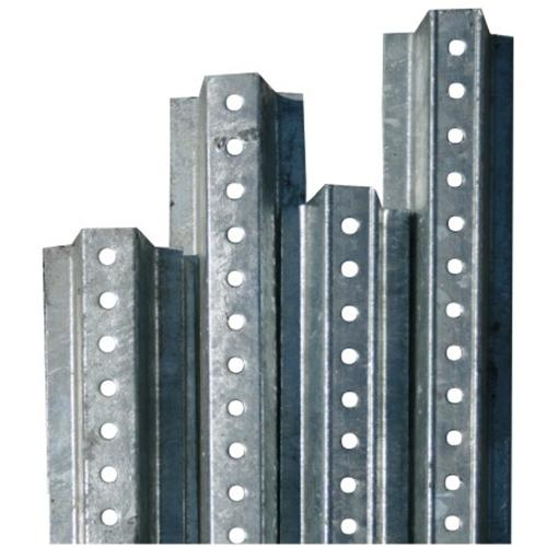 U-Channel Traffic Sign Posts-2lbs/ft Galvanized