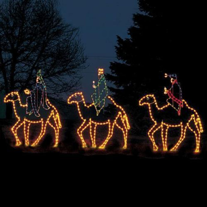 10' Three Wisemen on Camels