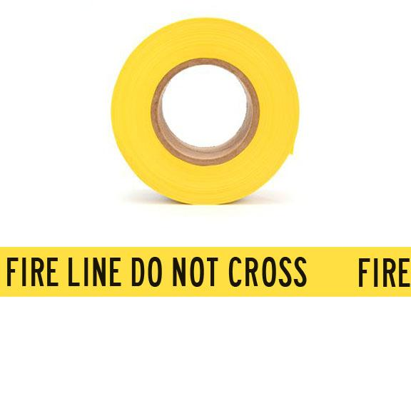 FIRE LINE DO NOT CROSS