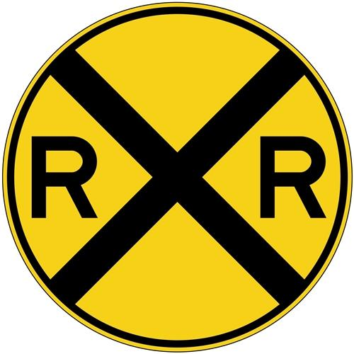 Railroad Crossing Symbol
