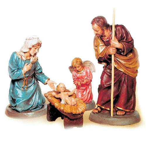 Half Life Size Holy Family Set