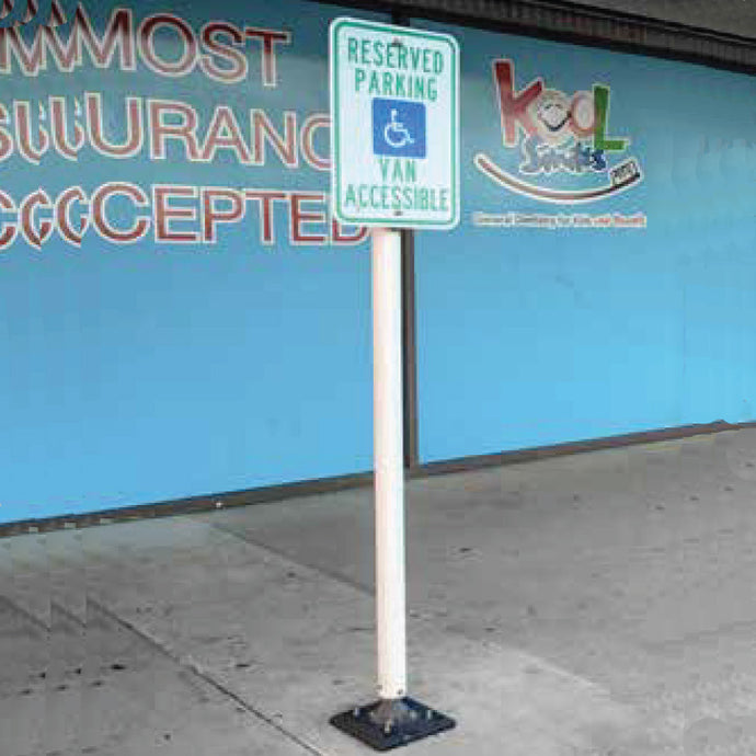Impact-able Sign Post