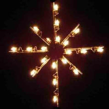 "Load image into Gallery viewer, 36"" Starburst Tree Topper"