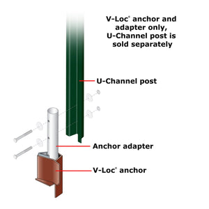 V-Loc Breakaway System - For U-Channel Post