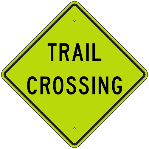 W11-15A Trail Crossing FYG Sign