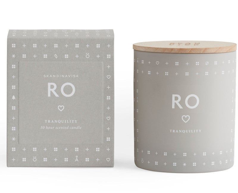 RO Scented Candle (tranquility)