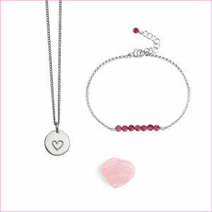 The Heart Bundle by Blooming Lotus Jewelry | Sterling