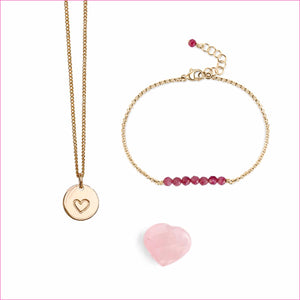 The Heart Bundle by Blooming Lotus Jewelry | Gold
