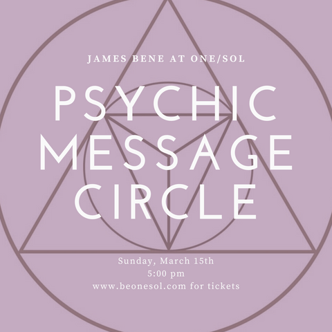 Psychic Circle with James Bene