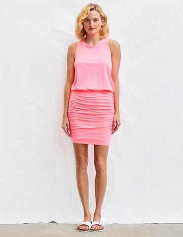 Sundry Racerback Dress Pink