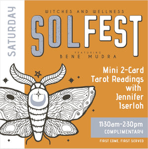 Mini 2 Card Tarot Readings with Jennifer Iserloh