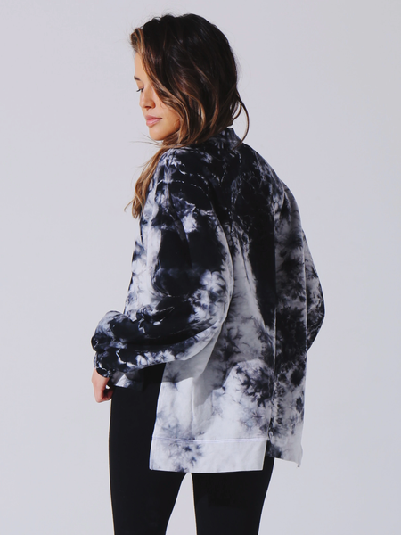Electric & Rose Neil Sweatshirt Onyx/Cloud