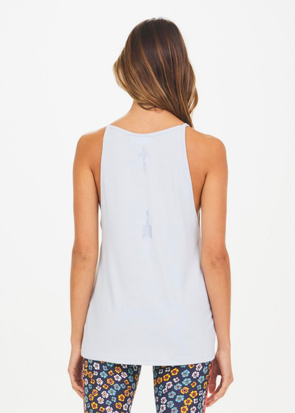 The Upside Dana Dri Release Tank Pale Blue