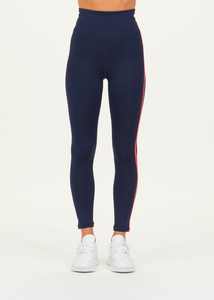 The Upside Liegia Dance Midi Pant Navy/Red