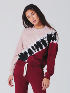 Electric & Rose Ronan Pullover - Echo Crimson