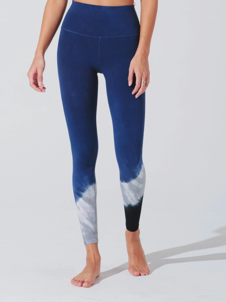 Electric & Rose Sunset Legging - Silverlake Blue