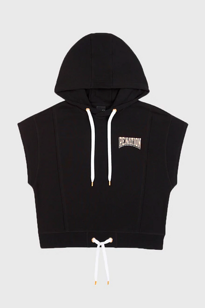 PE Nation Free Formation Hoodie in Black