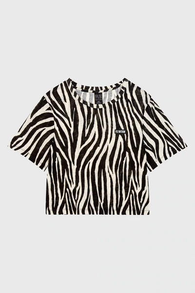 PE Nation - Rematch Tee Zebra