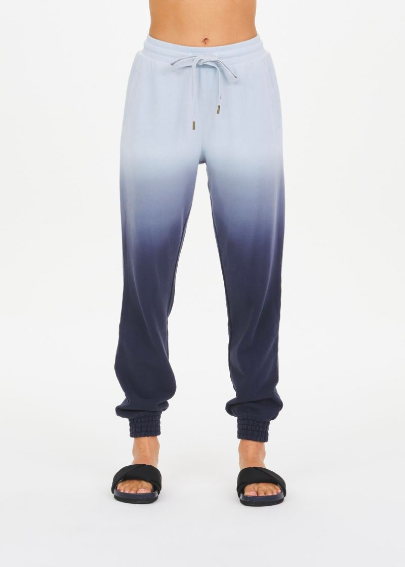 The Upside Ombre Alena Track Pant Blue