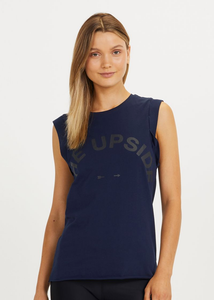 The Upside Muscle Tank Navy