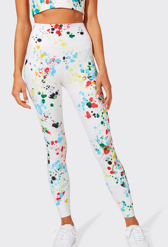Splits 59 Ava High Waist 7/8 Splatter Legging