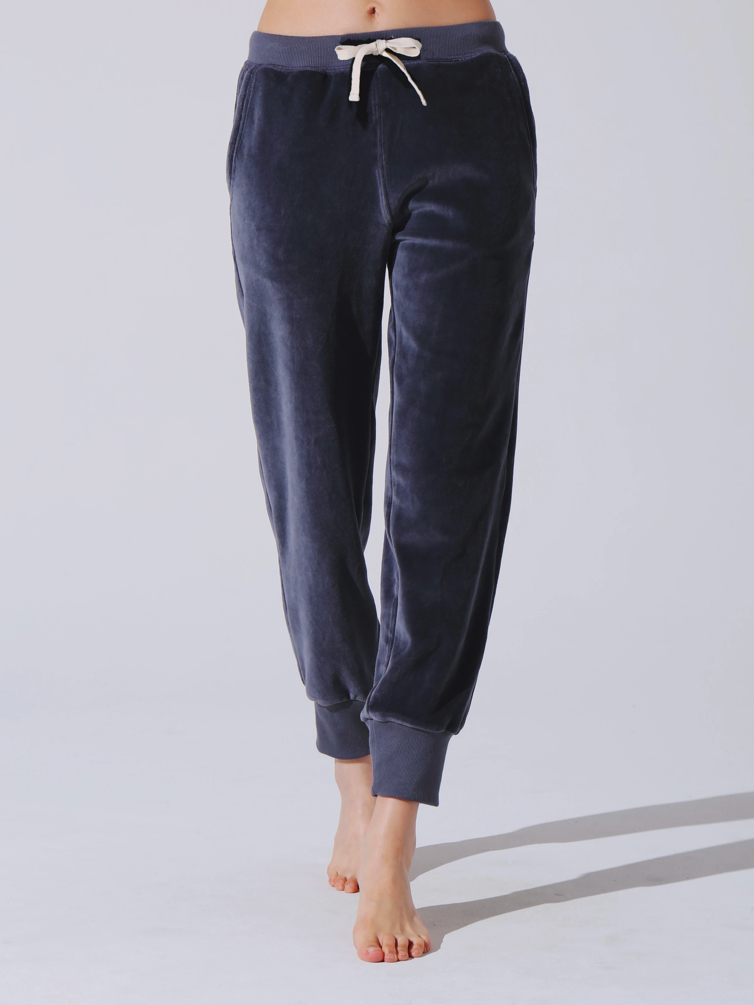 Electric & Rose Avery Sweatpant Velour Shadow