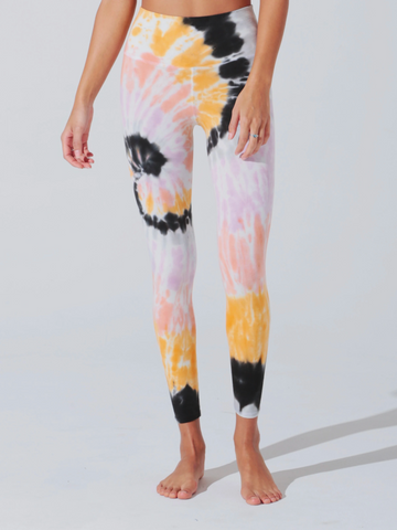 Electric & Rose Sunset Legging - Wildrose - BACK ORDERED STAY TUNED