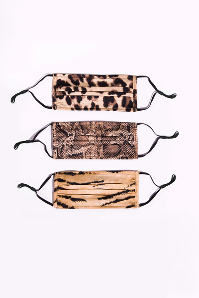Apparis - Snake Printed Face Mask