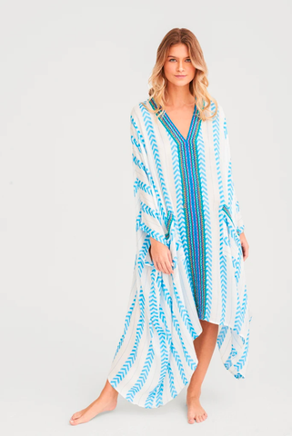 Indian Kaftan Blue