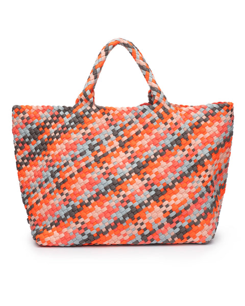 Naghedi Trunk Show - Large Tote - Various Colors: Sunset, Ecru, Ink, Onyx, Oyster, Papaya Sky