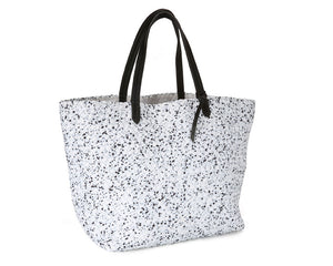 Naghedi Trunk Show - Jet Setter Large Tote - Various Colors: Splatter, Stone, Ink, Onyx