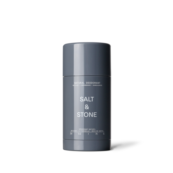 Salt & Stone Natural Deodorant - Vetiver + Lemongrass + sandalwood