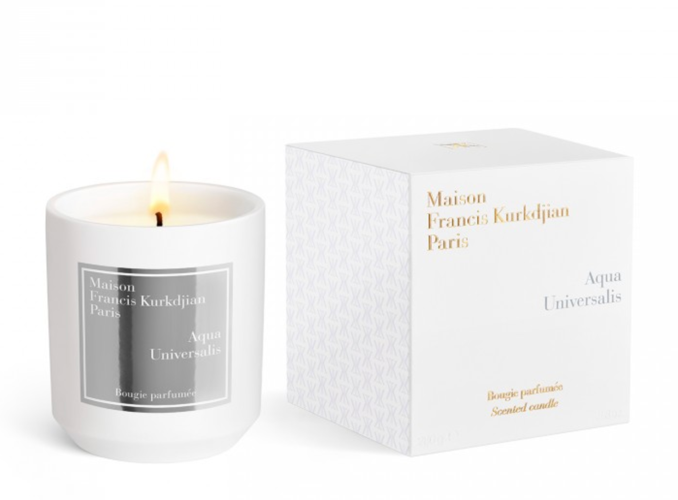 Kurkdjian Aqua Universalis Candle - Online Exclusive for Limited Time Only