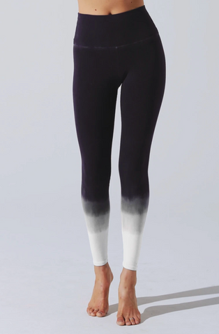 Electric & Rose Sunset Legging - Onyx/Off White