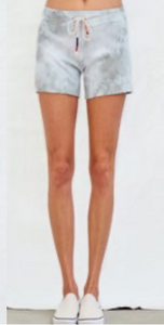 Sundry Cut off Shorts in Eucalyptus Tie Dye
