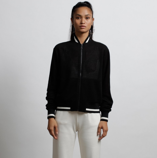 Twenty Mesh Jacket Black