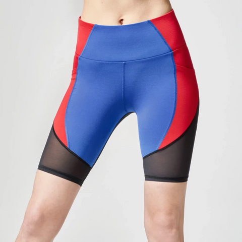 Michi Circuit Bike Short Flame