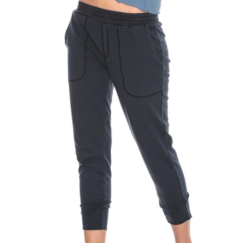 Electric & Rose Sloan Lounge Pant Onyx
