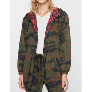 Pam & Gela Camo Reversible Hooded Parka