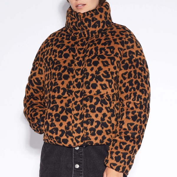 Apparis Paula Leopard Coat