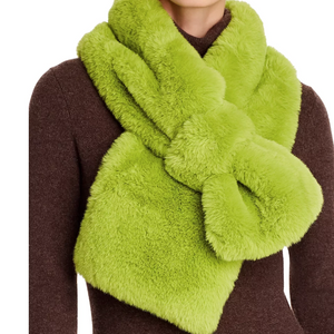 Apparis Luna Neon Green Scarf