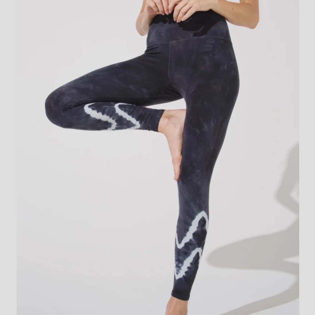 Electric & Rose Sunset Legging Graphite/ Cactus