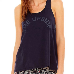 The Upside Scarlette Dri Release Tank Navy