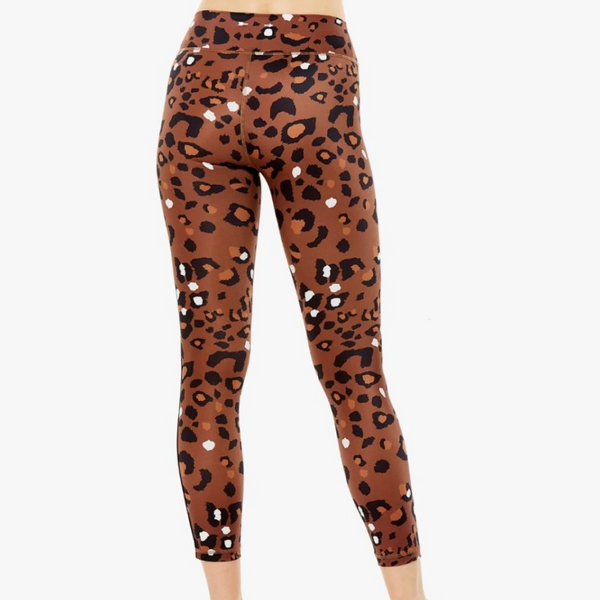 The Upside Tobacco Midi Leopard Pant