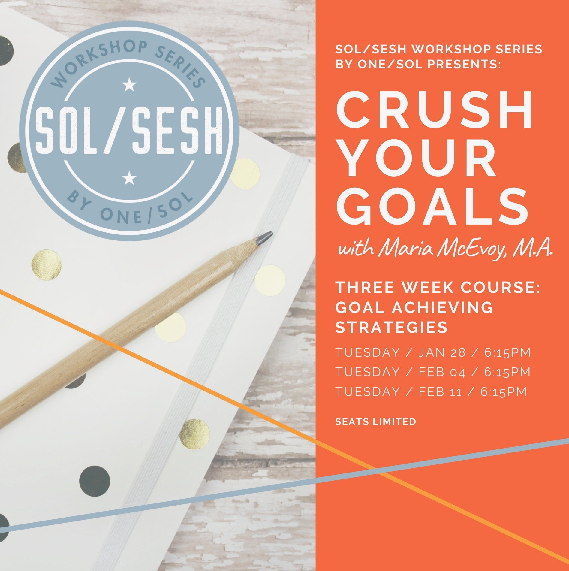 CRUSH YOUR GOALS with Maria McEvoy