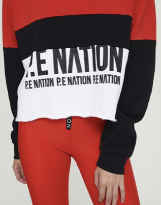 PE NATION Real Challenger Sweat
