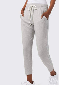 Splits 59 Reena 7/8 Fleece Sweatpant grey